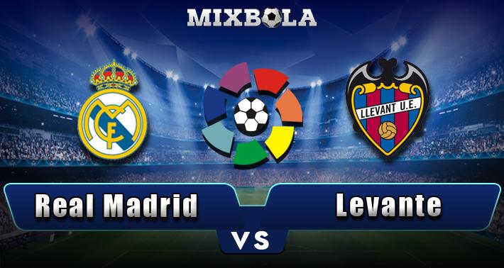 Prediksi Liga Spanyol Real Madrid vs Levante 20 Oktober